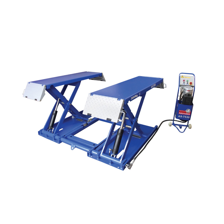 As 7530d garage scissor lift automotech services limited Lift for home garage