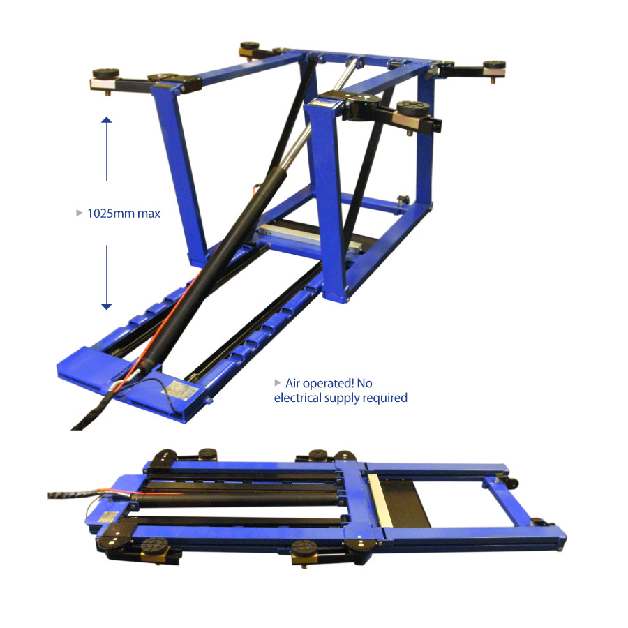 As 5500 2 5 Tonne Scissor Lift Automotech Services Limited