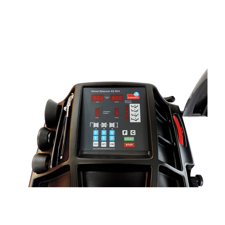 As B24 Motorised Wheel Balancer Automotech Services Limited