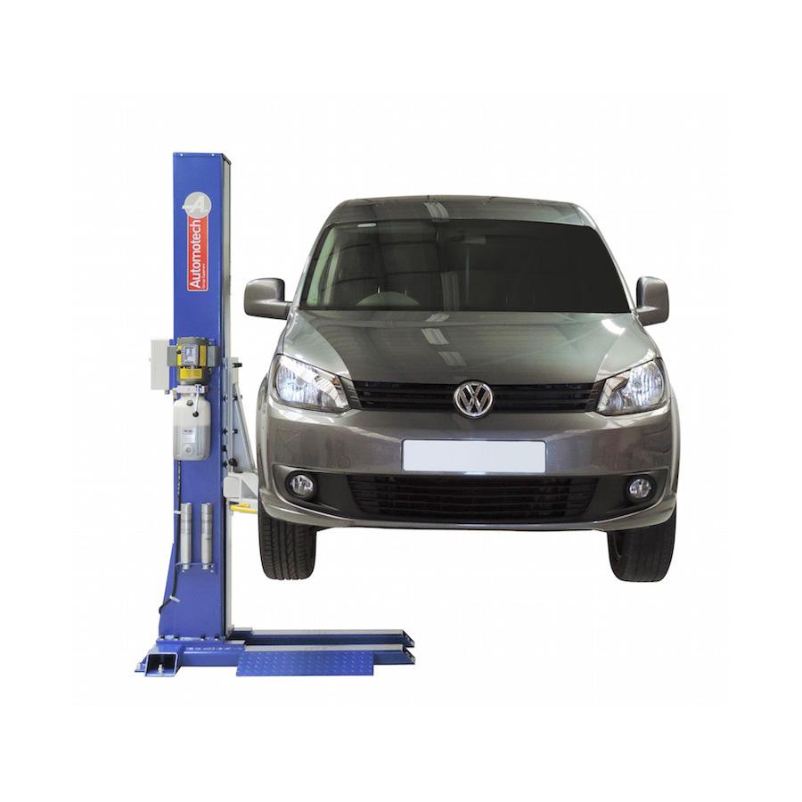 As 7521b Single Post Vehicle Lift Automotech Services